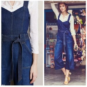 7 For All Mankind Wide Legged St. Tropez Jumpsuit